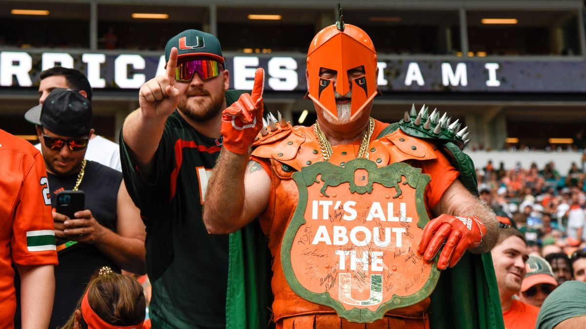 Virginia vs. Miami Betting Prediction, Pick: Smart Money Shifting Thursday's College Football Odds article feature image