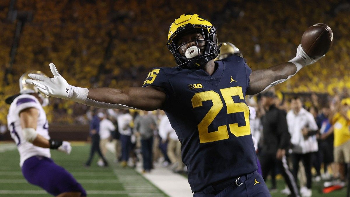 College Football Week 3 Northern Illinois vs. Michigan Betting Odds & Pick: Wolverines to Cruise to Another Victory? article feature image