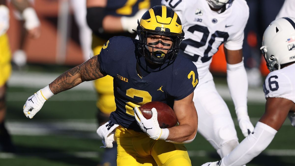 Michigan vs. Western Michigan Odds, Promo: Get a $500 Risk-Free Bet on the Wolverines article feature image