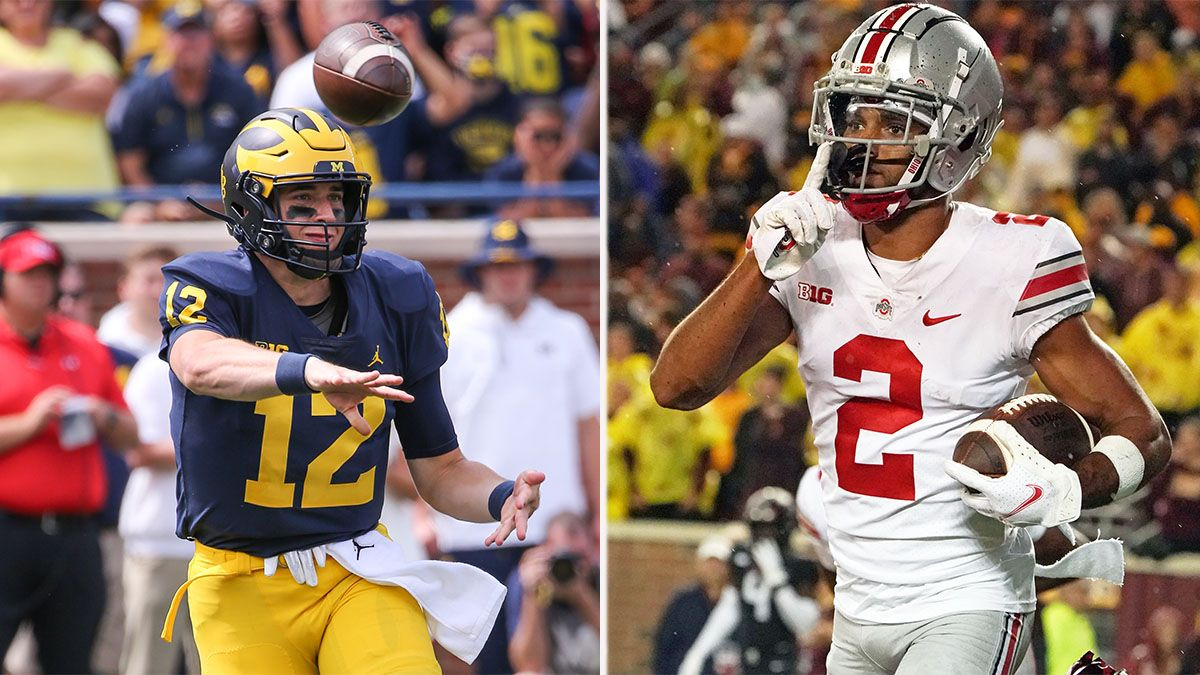 College Football Week 2 Odds: Michigan, Ohio State, Texas See Significant Line Movement article feature image