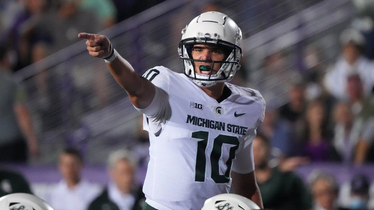 Michigan State vs. Nebraska Betting Odds, Picks: Bet Sparty in Late-Night Big Ten Action (Saturday, September 25) article feature image
