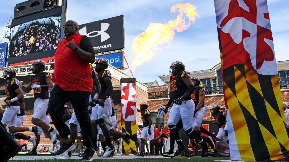 Iowa vs. Maryland Betting Prediction, Pick: Sharps Moving Friday Night's Spread article feature image