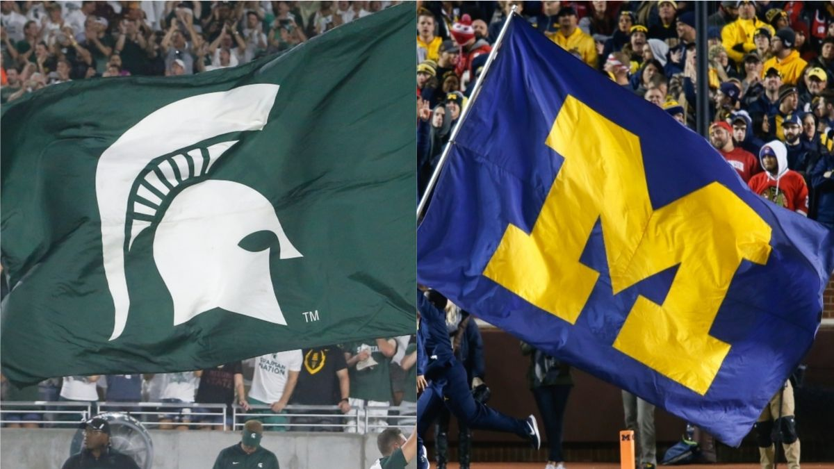 College Football Odds & Promos for Michigan, Michigan State: Win Over $400 on a Touchdown! article feature image