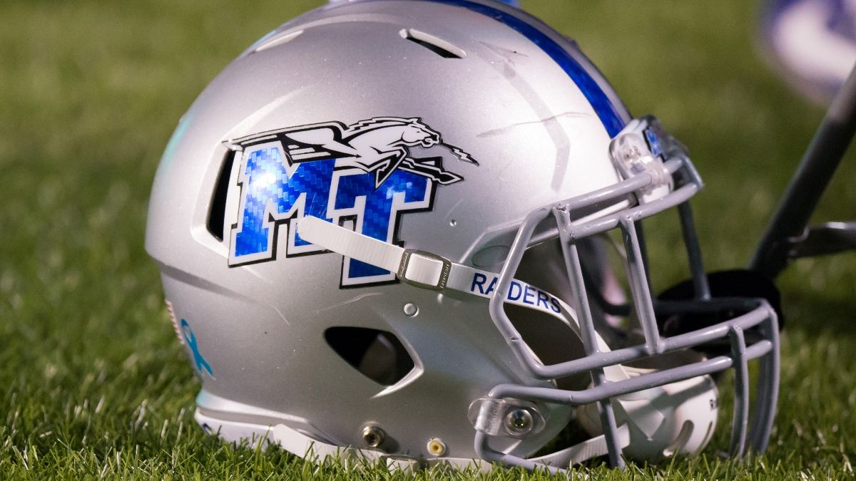 Middle Tennessee vs. Charlotte Odds, Promo: Bet $10, Win $200 if the Blue Raiders Score a TD! article feature image