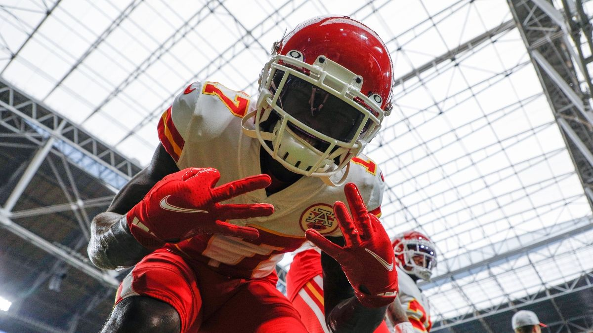 NFL Props To Bet For Chiefs vs. Ravens: A Mecole Hardman For Sunday Night Football article feature image