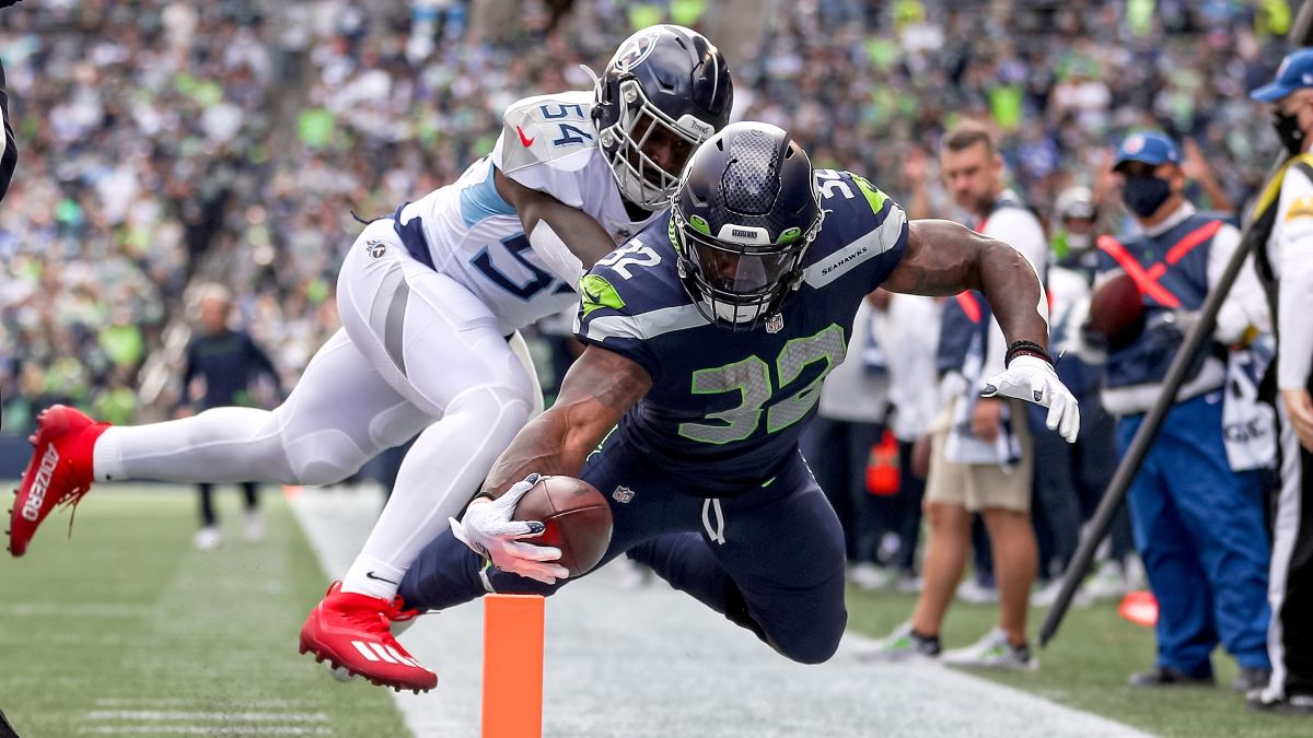 NFL Props To Bet For Week 3: Chris Carson, Najee Harris, Robert Woods, More Picks article feature image