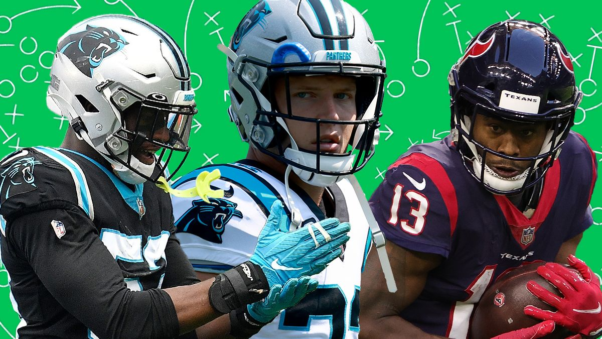 Texans vs. Panthers Odds, Picks, Predictions: How To Bet Thursday Night Football article feature image