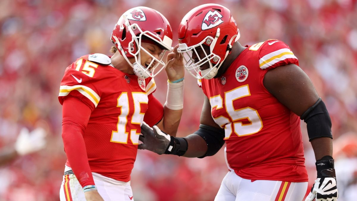 Chiefs vs. Ravens NFL Betting Model Predictions: The Big Edge for Sunday Night Football article feature image