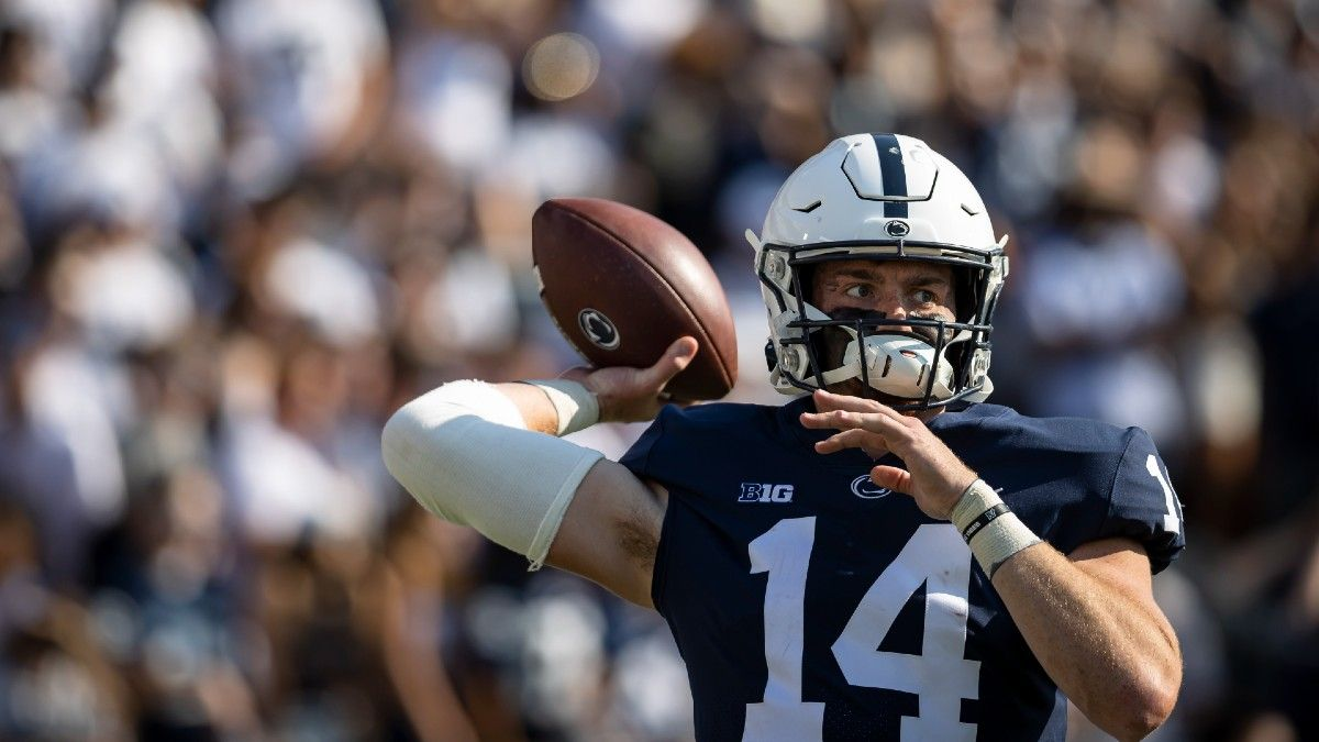 Penn State vs. Indiana Odds, Promo: Bet $1, Win $100 if Either Team Scores a TD! article feature image