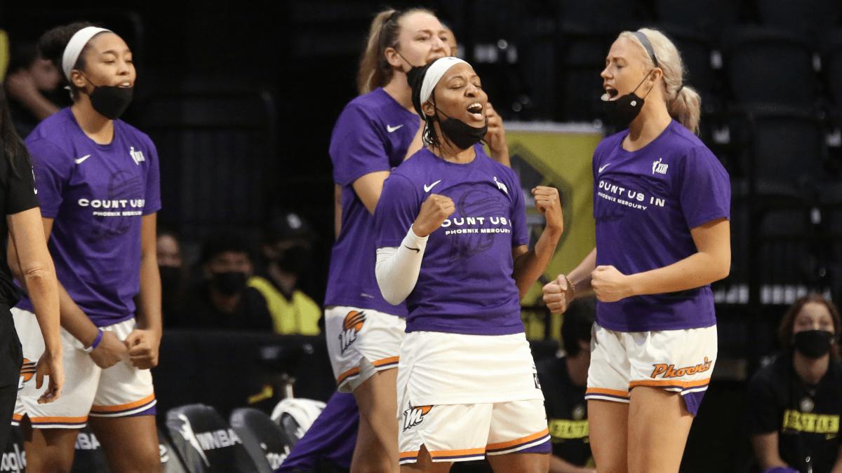 WNBA Playoffs Market Report: Phoenix Mercury Championship Liability After Upsetting Seattle Storm article feature image