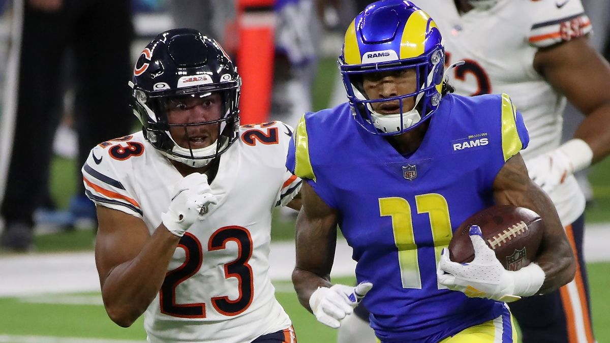 Caesars Virginia Promo: Get a Risk-Free Bet Up to $5,000 on Rams vs. Bears and a Free NFL Jersey! article feature image