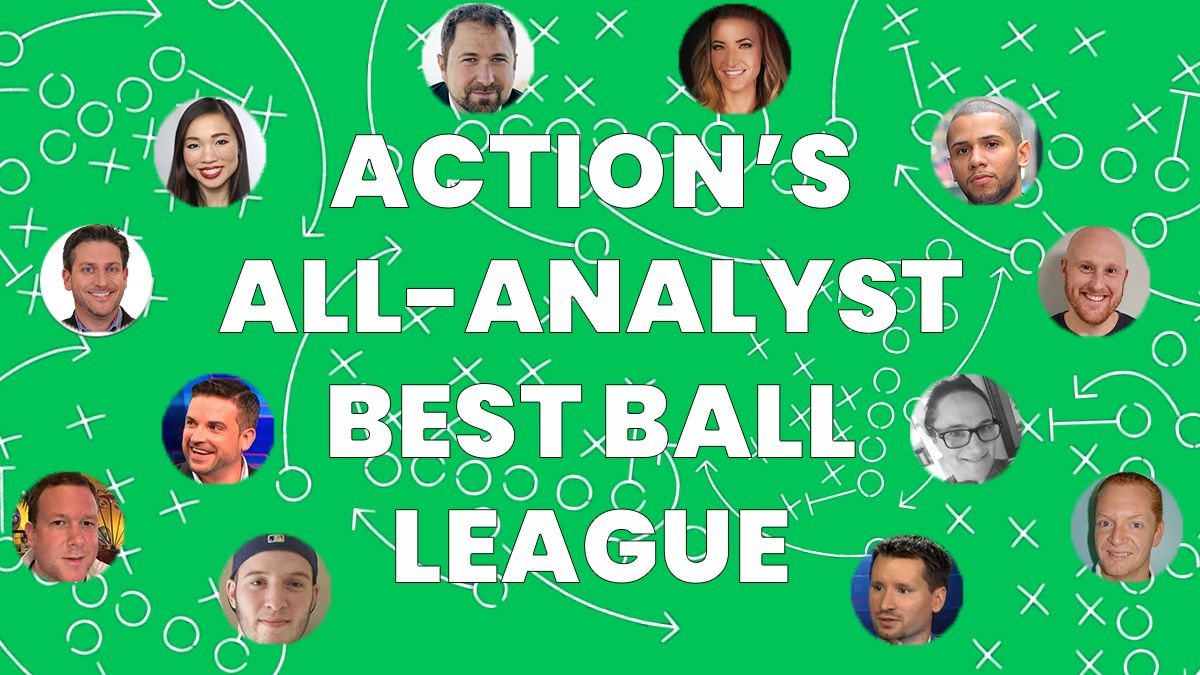 2021 Fantasy Draft Results For An All-Expert, 12-Team Best Ball League: Round-By-Round Picks article feature image