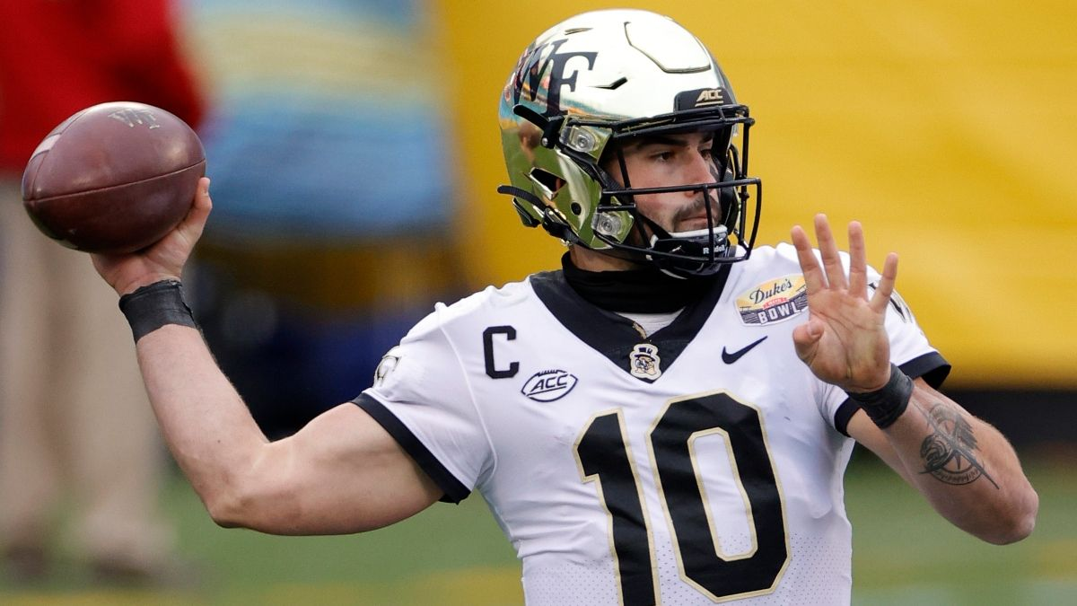 Old Dominion vs. Wake Forest College Football Odds, Betting Picks: Sharps, System Aligned on Friday Night's Spread article feature image