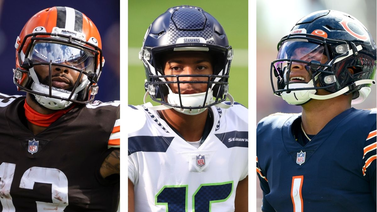 Start Odell Beckham? Sell High On Tyler Lockett? Drop Justin Fields? Answering Your Week 4 Fantasy Questions article feature image