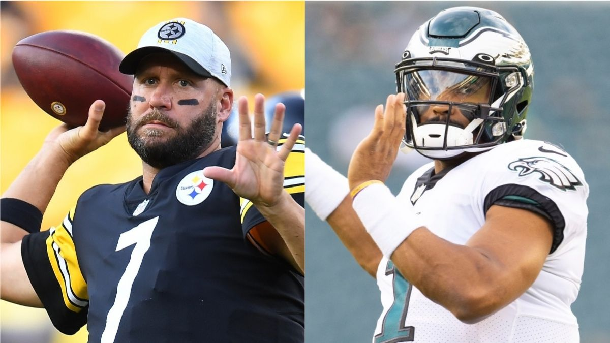 Pennsylvania NFL Promo: Bet $10, Win $200 if Hurts or Roethlisberger Throws for 1+ Yard! article feature image