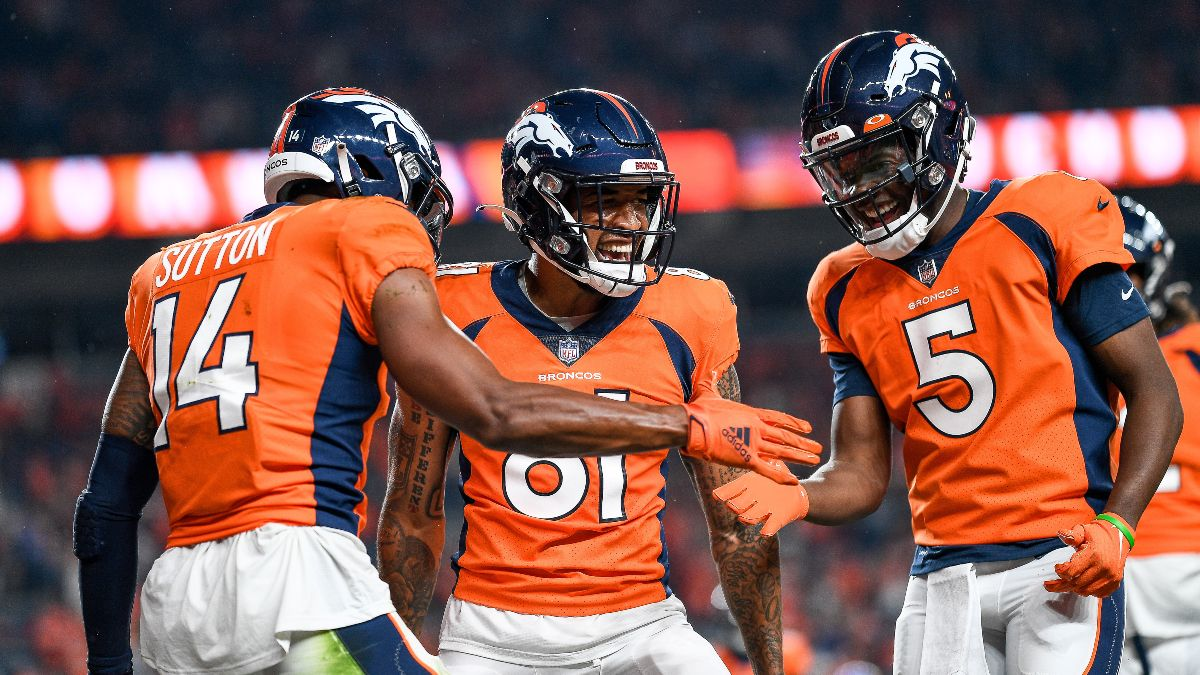 2021 NFL Betting Preview: Win Total Picks for 8 Sleepers, Including the Broncos & Falcons article feature image