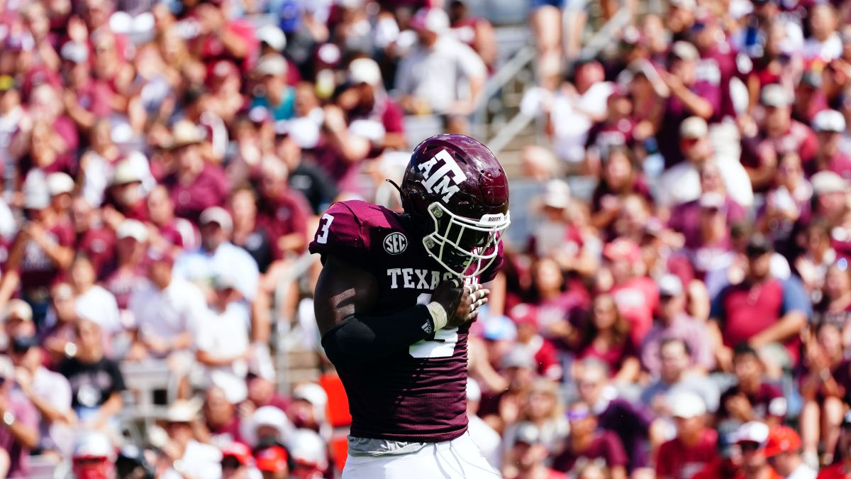 Week 4 College Football Odds, Picks: Collin Wilson's Saturday Betting Card, Including Arkansas vs. Texas A&M (Sept. 25) article feature image