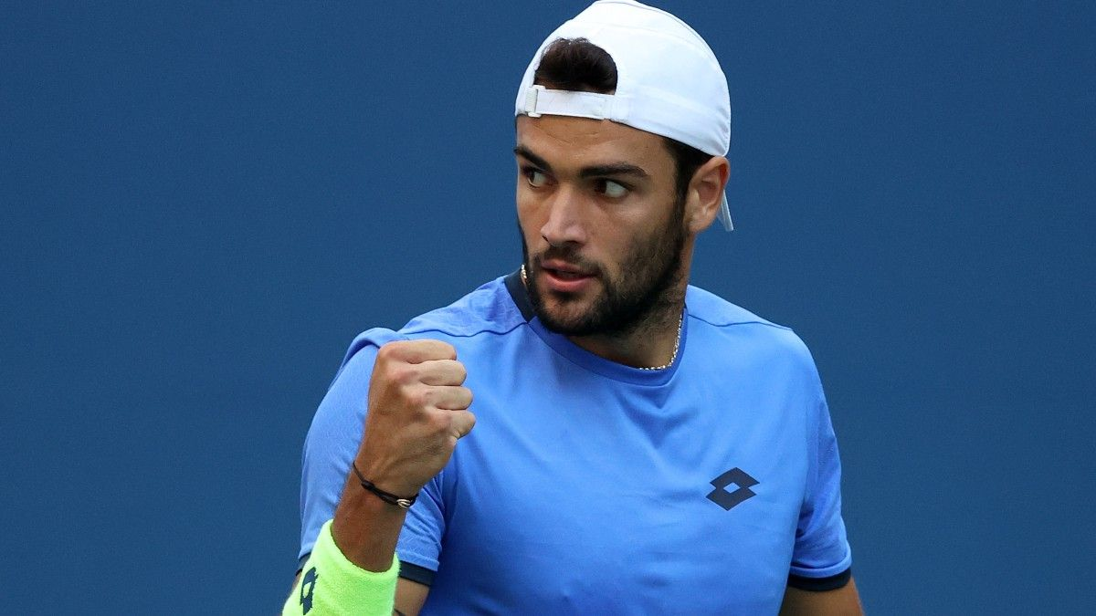 Novak Djokovic vs. Matteo Berrettini US Open Quarterfinal Odds, Pick, Preview: How Much Can World No. 1 Be Pushed? (Sept. 7) article feature image