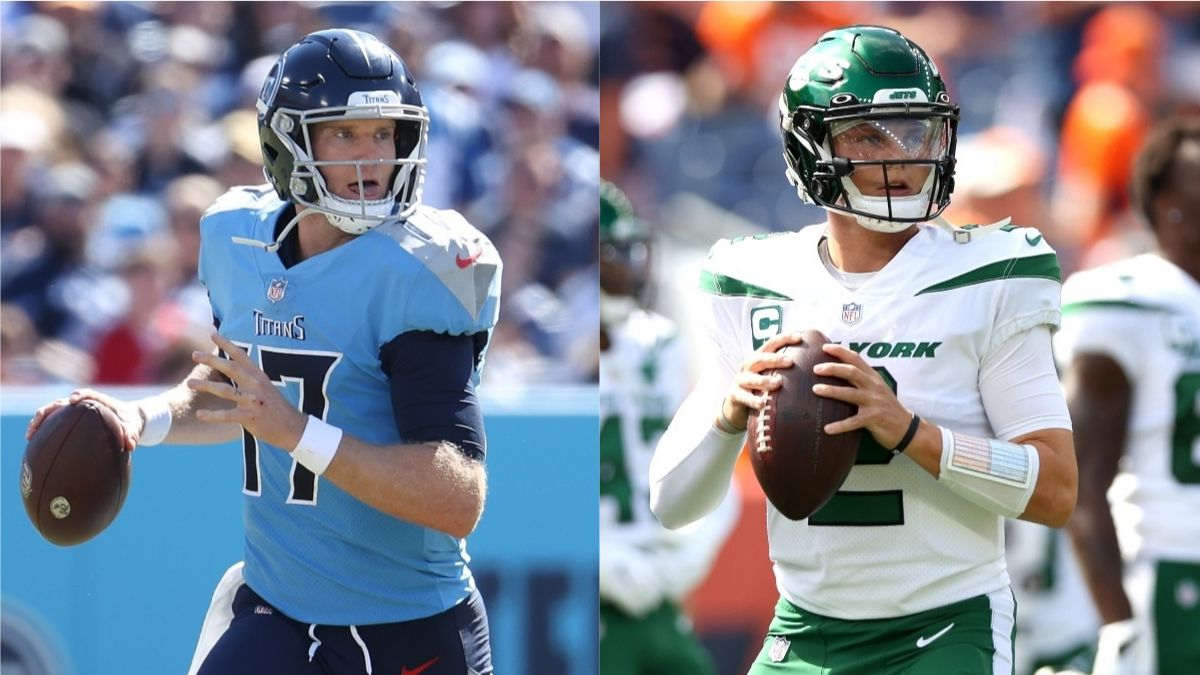 Titans vs. Jets Odds, Promo: Bet $10, Win $200 if Either Team Scores a TD! article feature image