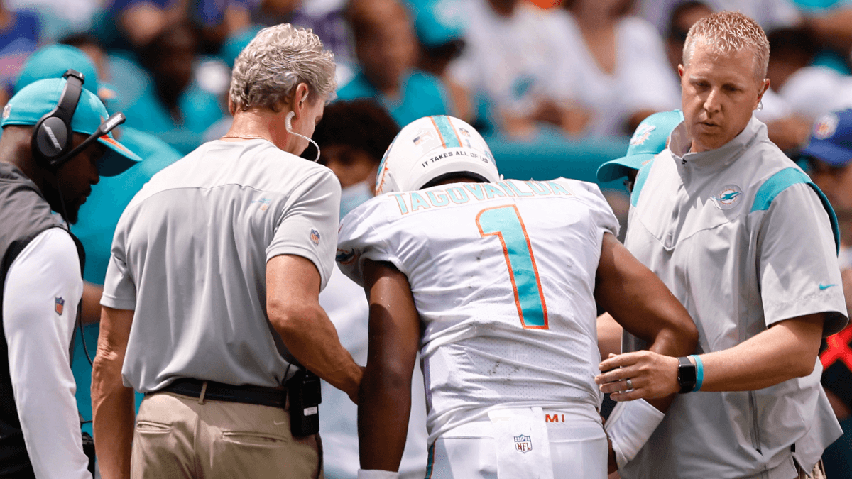 Dolphins vs. Raiders Odds & Fantasy Advice: Tagovailoa's Injury Impacts Jacoby Brissett, Jaylen Waddle & More article feature image