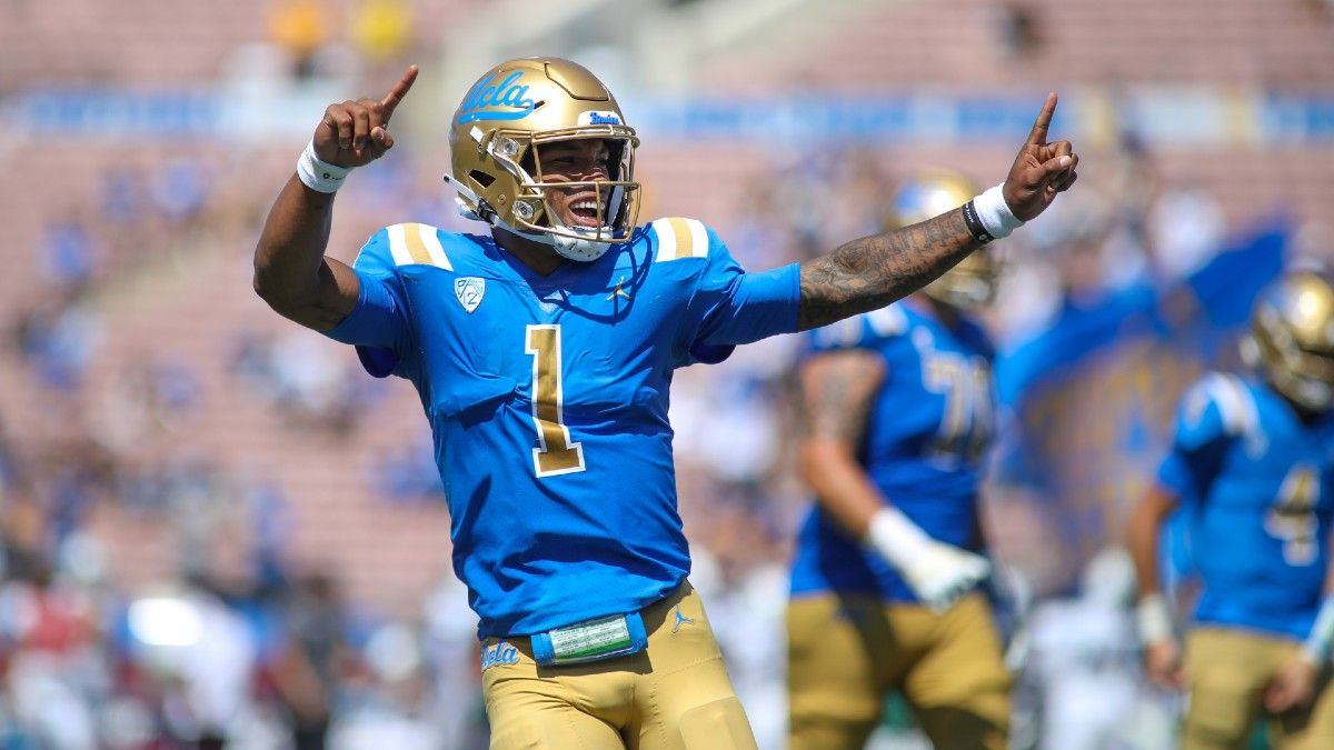 2021 College Football Odds, Pick & Prediction for LSU vs. UCLA: How to Bet Pac-12, SEC Showdown (September 4) article feature image