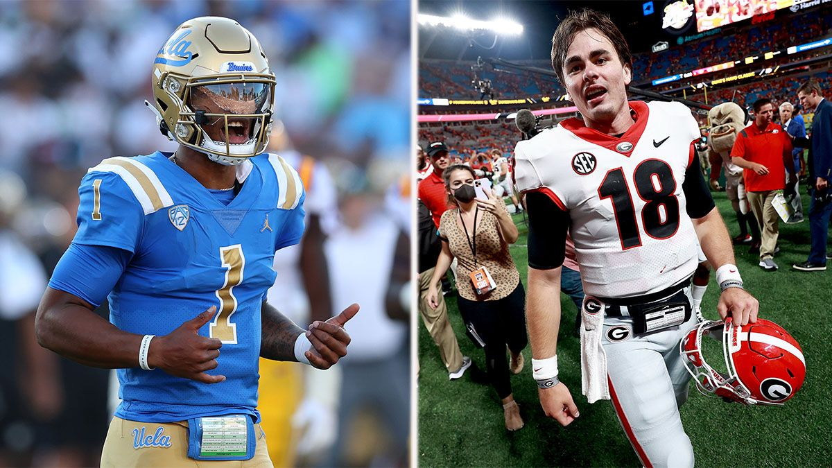 2022 College Football Playoff National Championship Odds Changes: UCLA, Georgia Climb Latest Rankings article feature image