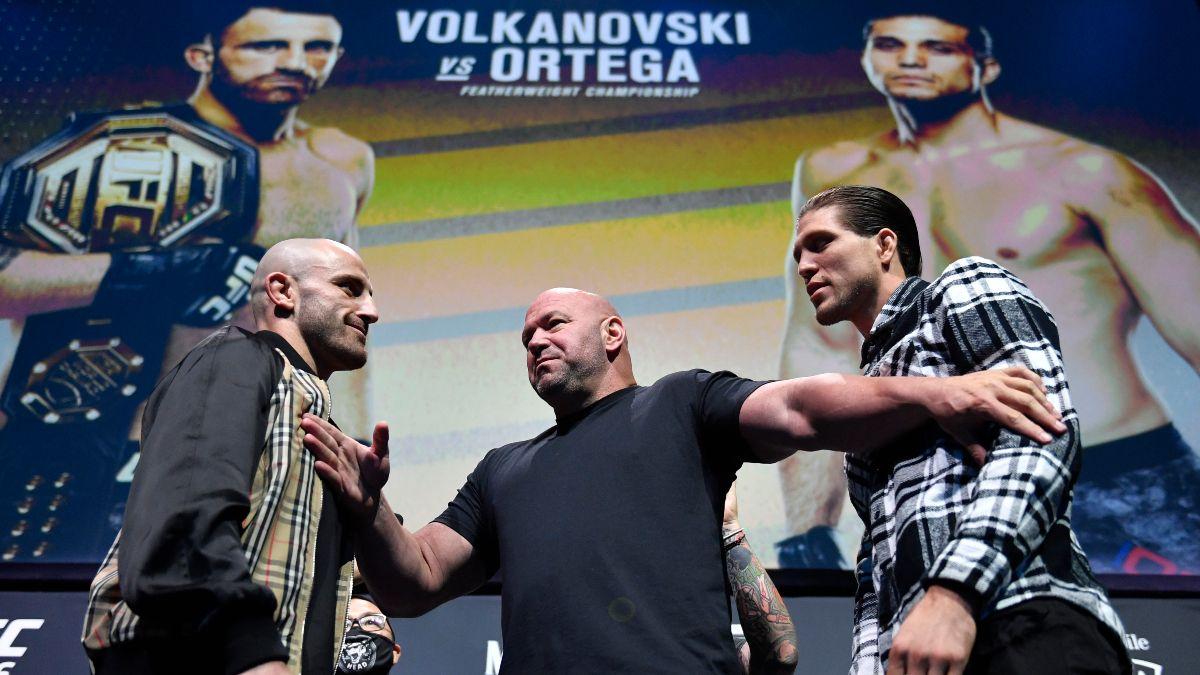 Alexander Volkanovski vs. Brian Ortega UFC 266 Odds, Pick & Prediction (Saturday, Sept. 25) article feature image