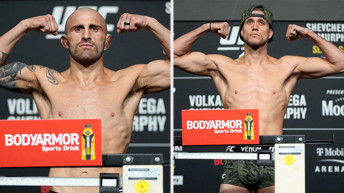 Alexander Volkanovski v. Brian Ortega UFC 266 Odds Movement: The Challenger Has Majority of Bets, Money article feature image
