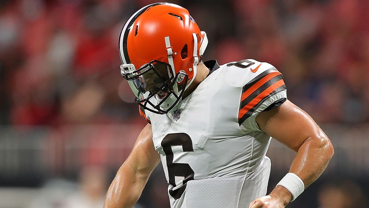 NFL Props To Bet For (Almost) Every Game: Baker Mayfield, Aaron Jones, More Week 1 Player Prop Picks article feature image