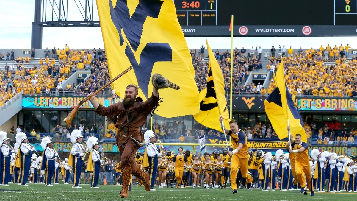 West Virginia Mountaineers Odds, Promos: Win $205 if the Mountaineers Score a Touchdown, and More! article feature image