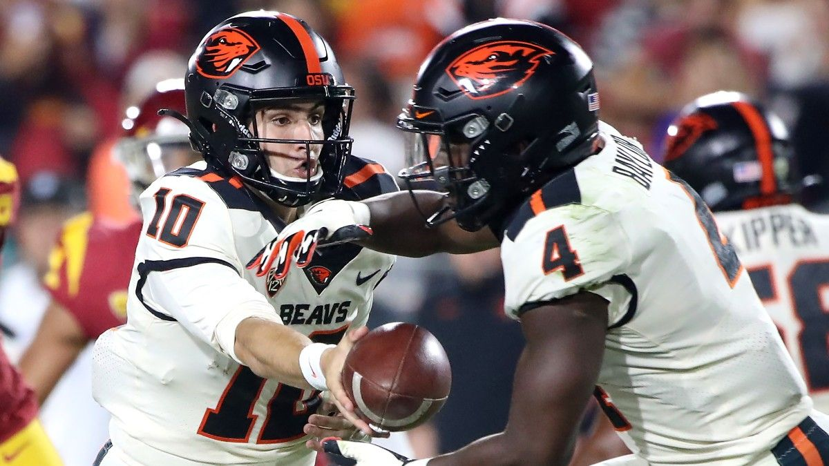 College Football Odds, Picks, Preview for Oregon State vs. Washington State: Can Beavers Win Big? (Oct. 9) article feature image