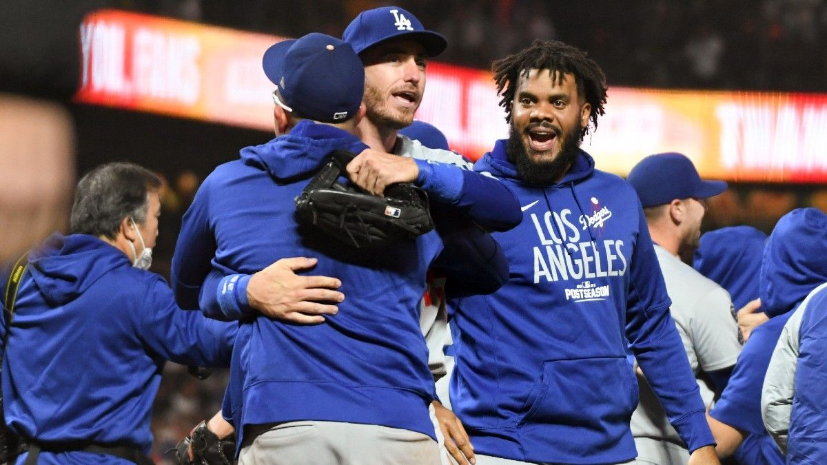 World Series Odds, MLB Playoff Schedule: Dodgers, Astros Favored To Square Off article feature image