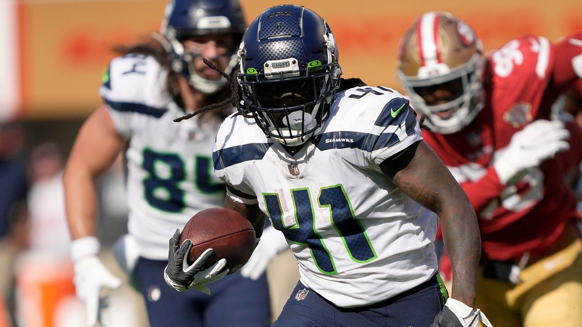 Thursday Night Fantasy Football: Is Alex Collins Worth Starting With Chris Carson Out? article feature image