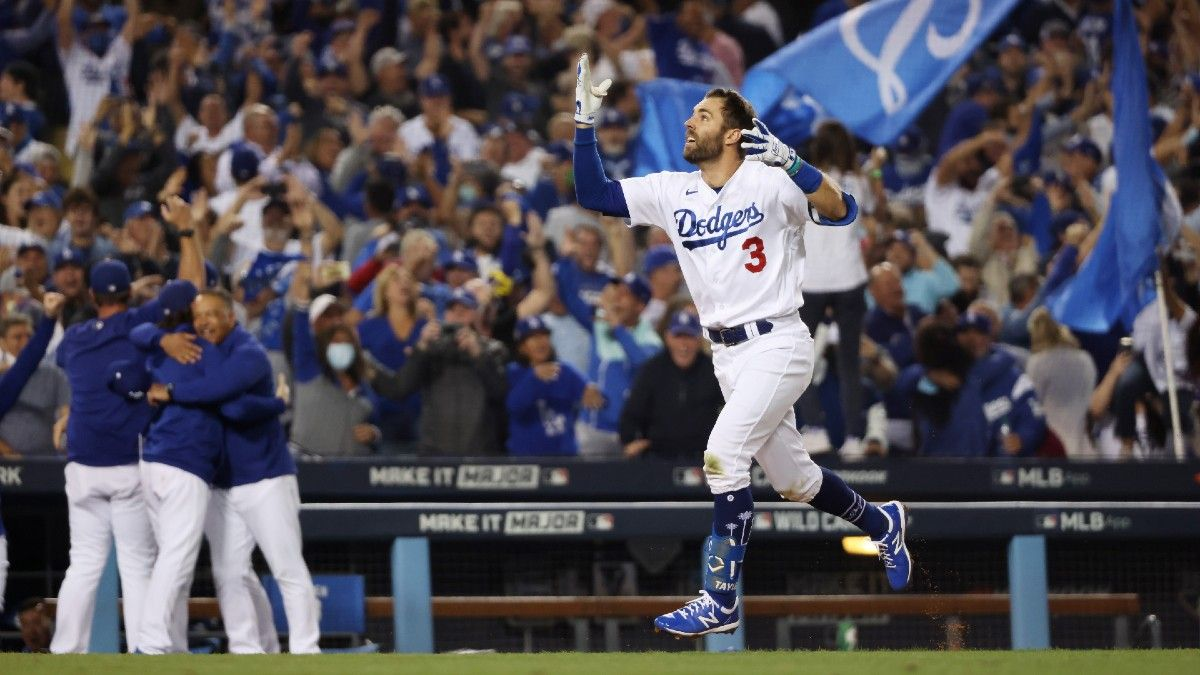 MLB Odds, Picks, Projections: How To Bet Friday's Four Division Series Matchups, Including Dodgers-Giants (October 8) article feature image