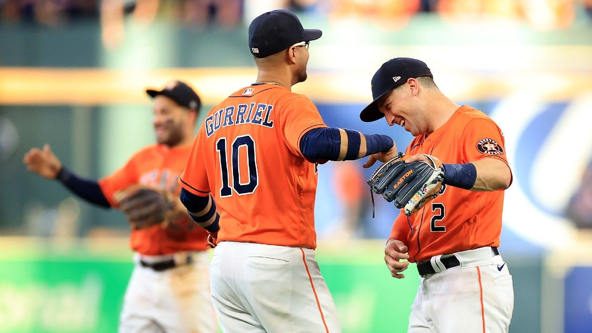 Sunday MLB Odds, Expert Picks, Predictions: Our Favorite Bets For Rays vs. Red Sox & Astros vs. White Sox (Oct. 10) article feature image