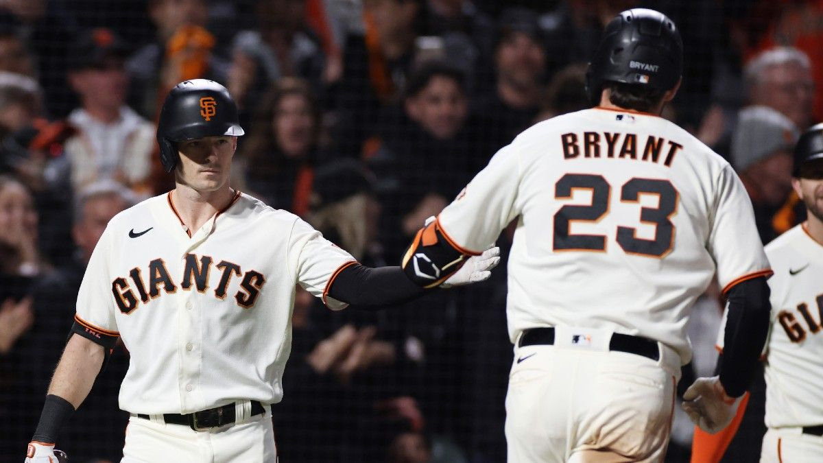 Saturday MLB Betting Picks: 3 Plays for Dodgers-Giants, Braves-Brewers in NLDS Game 2 article feature image