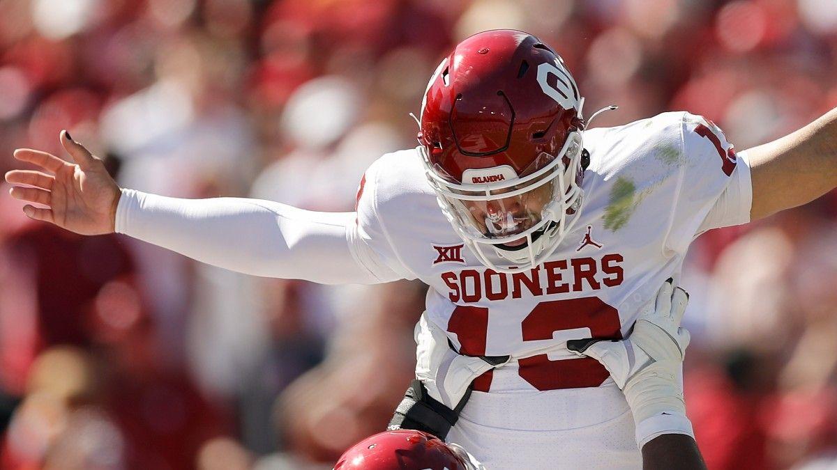 Oklahoma QB Caleb Williams Leads Crazy Comeback, Cover Over Texas article feature image
