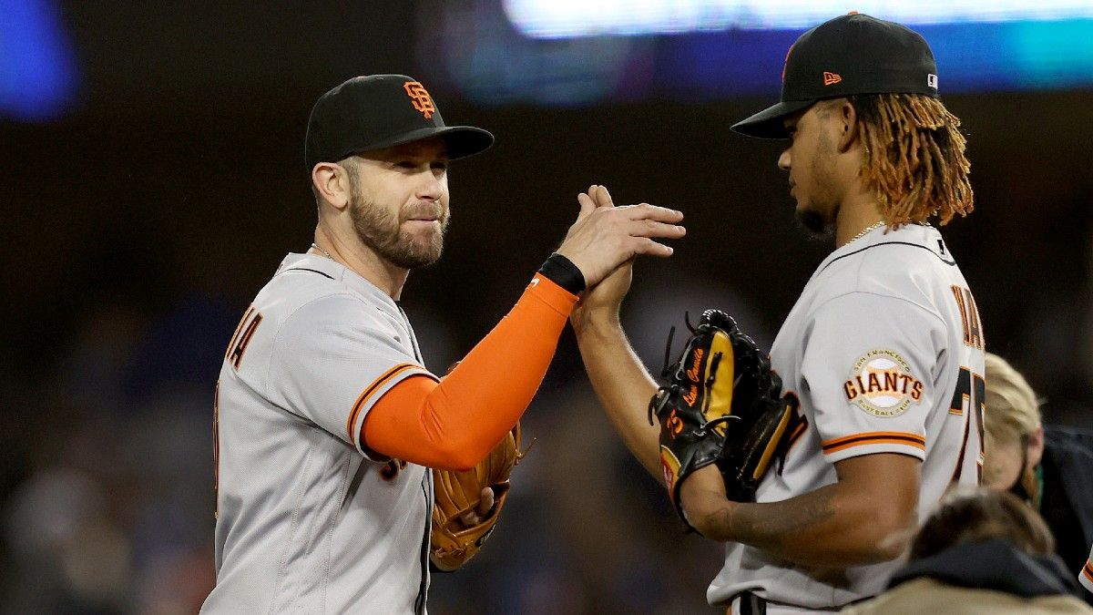 Major League Baseball Odds, Picks, Projections: How To Bet Tuesday's Three Divisional Series Matchups (Oct. 12) article feature image