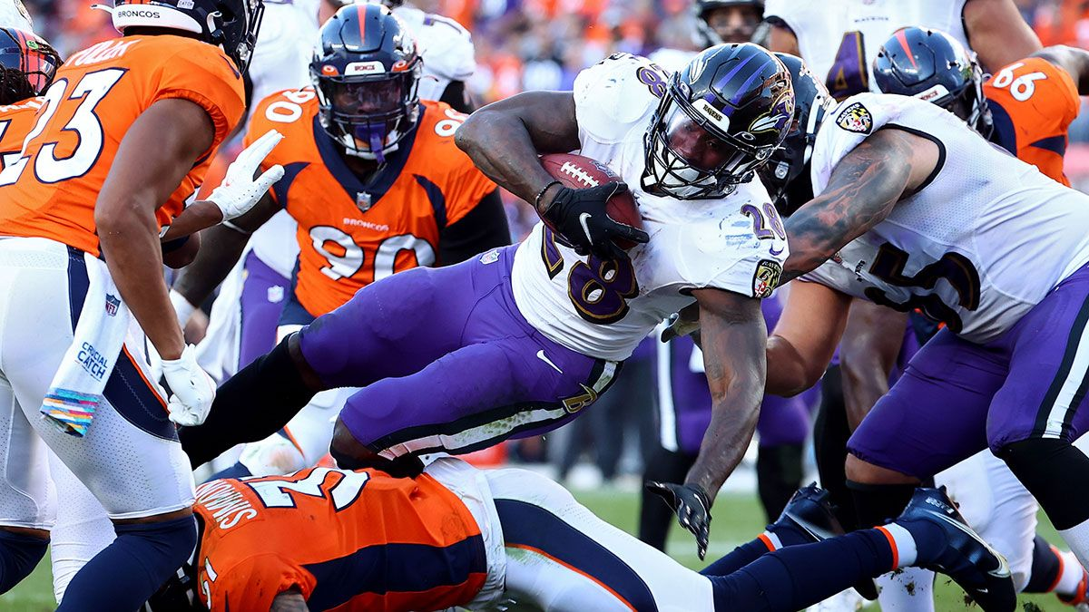 Add Latavius Murray Off Fantasy Waiver Wire? The Potential Value of Ravens RB & How Much FAAB To Bid article feature image