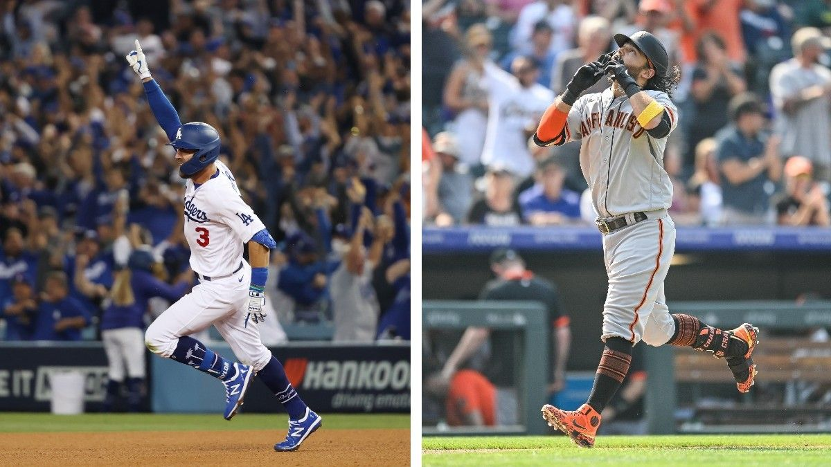 Dodgers vs. Giants NLDS Odds, Series Schedule: Los Angeles Favored Over Rival To Advance To NLCS article feature image