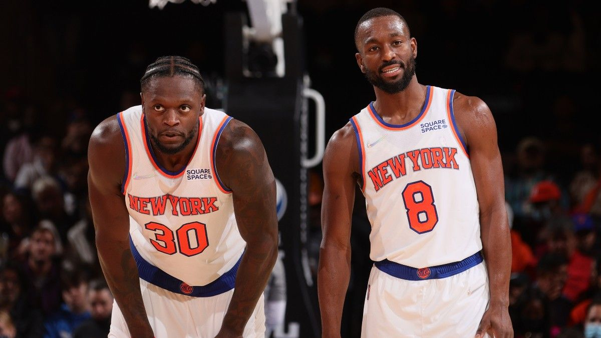 New York Knicks NBA Win Total Odds & Pick: Will Julius Randle and New York Regress? article feature image