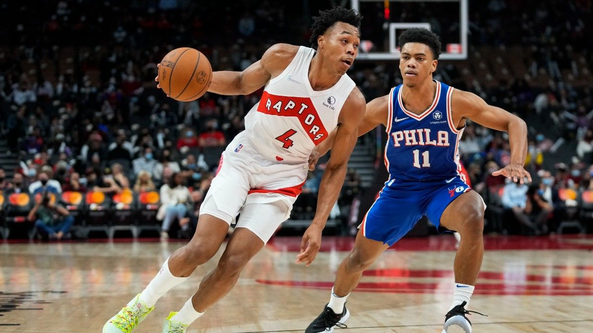 Toronto Raptors NBA Win Total Odds & Pick: How to Bet Toronto after Significant Roster Turnover article feature image