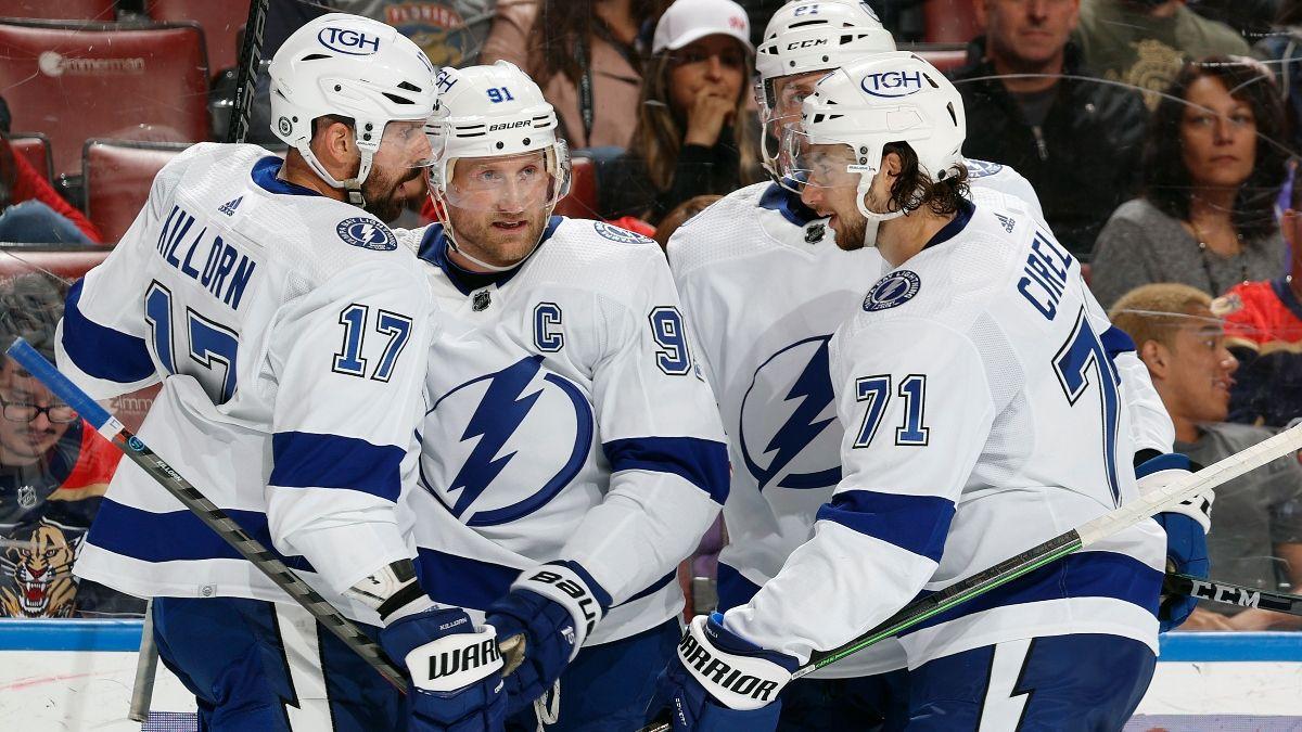 Penguins vs. Lightning Odds & Picks: How To Bet NHL Season Opener (Oct. 12) article feature image