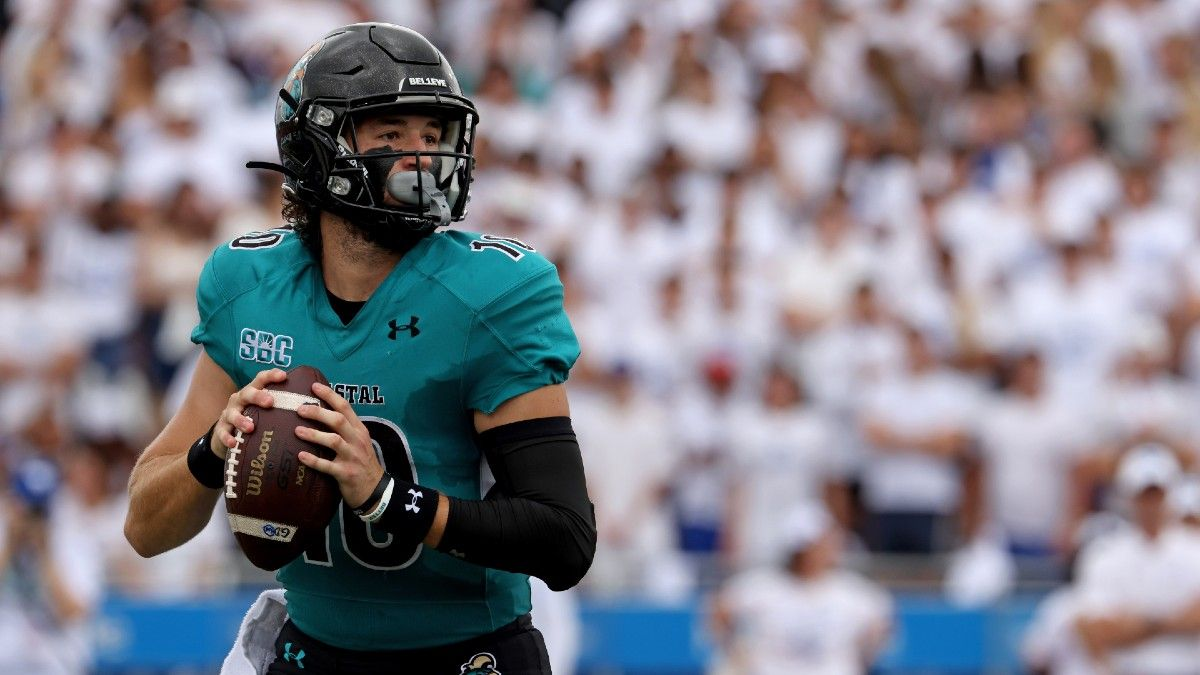 Coastal Carolina vs. Arkansas State Odds, Predictions: Our Top Spread Pick for Thursday (October 7) article feature image