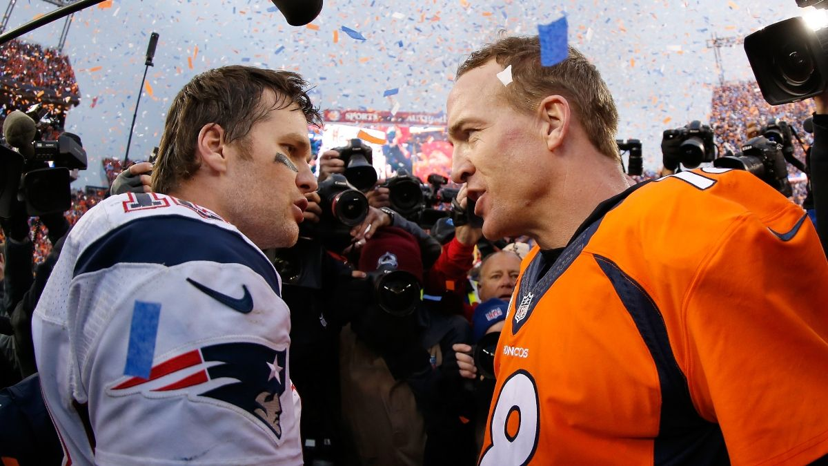 2021 Tom Brady vs. 2013 Peyton Manning: The GOAT Comp As Bucs QB Returns to New England To Face Patriots article feature image