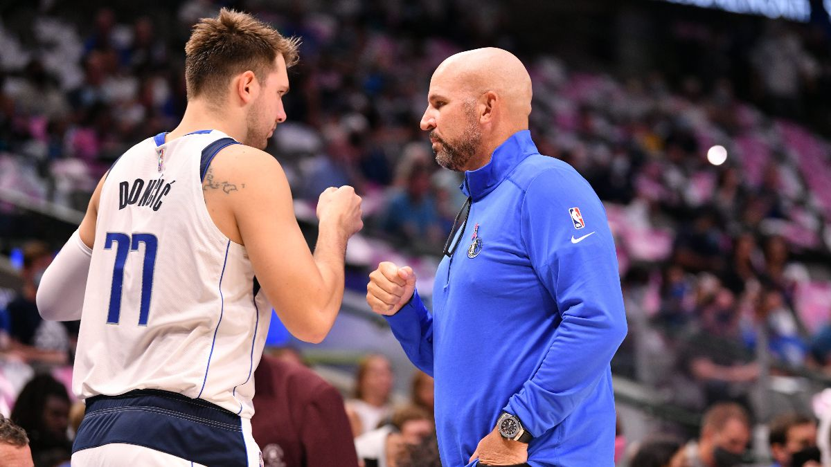 NBA Win Total Odds & Pick: How Will Jason Kidd Impact the Dallas Mavericks' Over/Under? article feature image