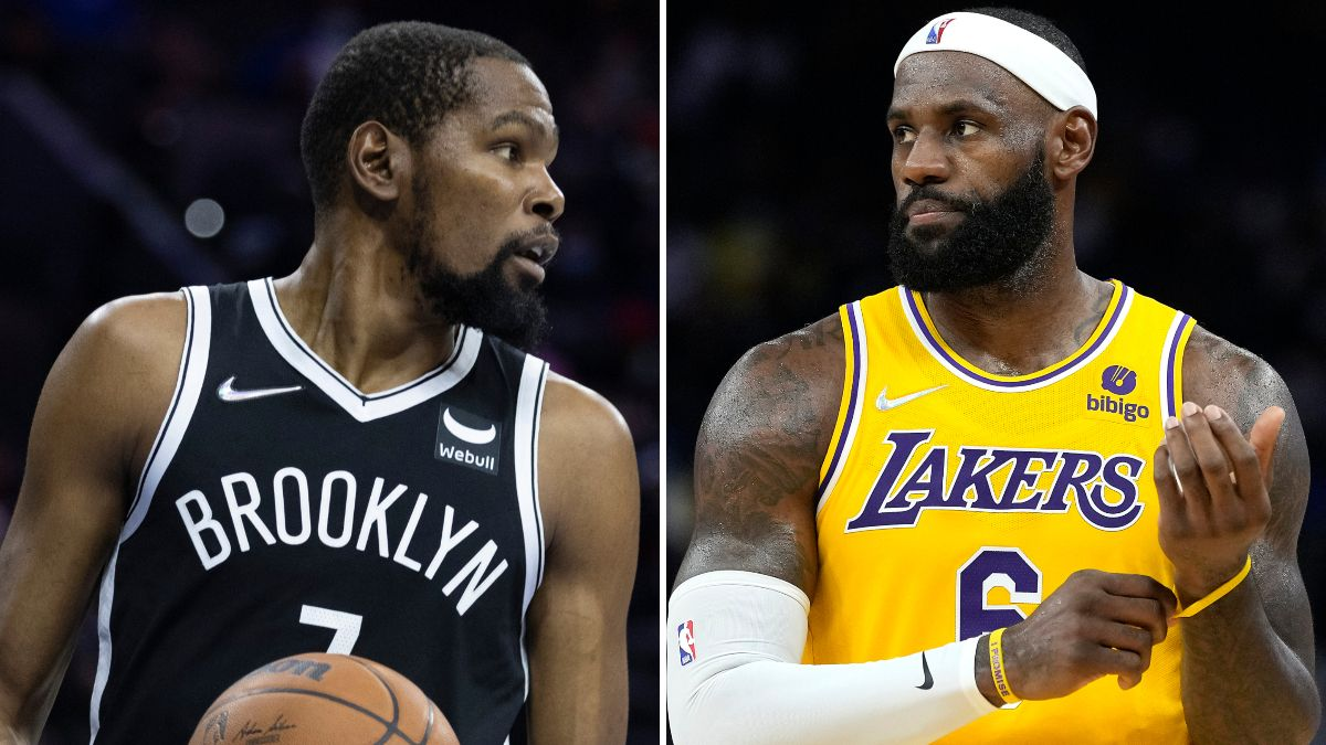 NBA No. 1 Seed Odds: Lakers, Nets Open Season as Favorites article feature image