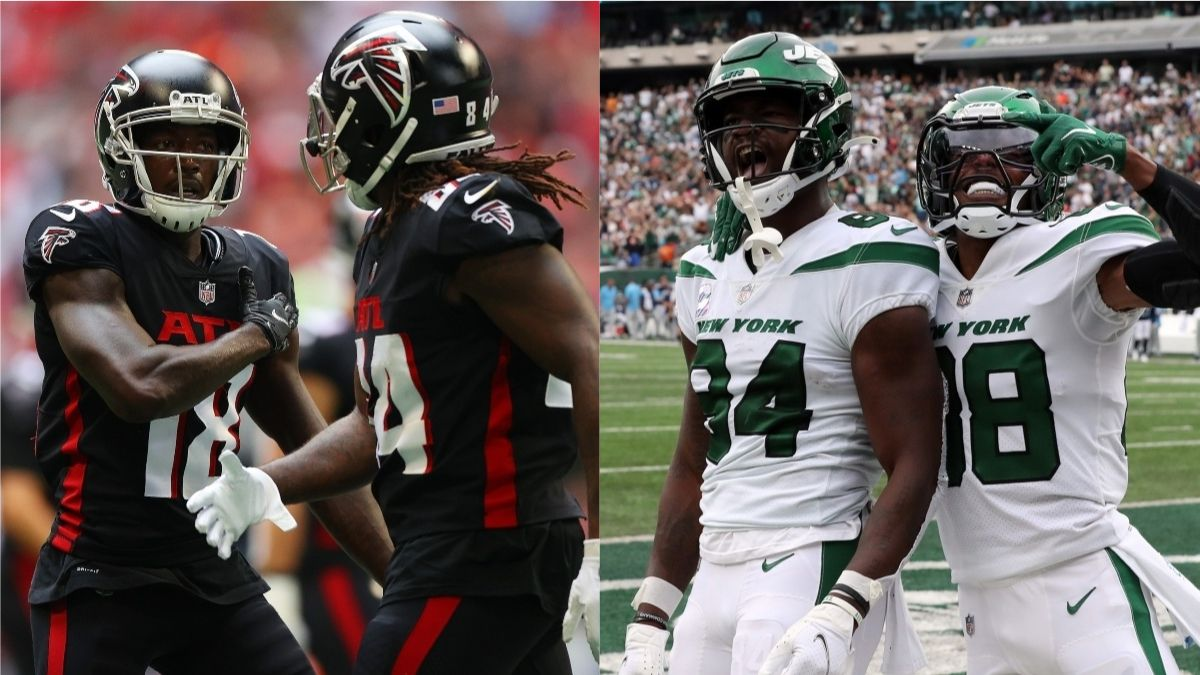 Jets vs. Falcons Odds, Promo: Get a Risk-Free Bet Up to $5,000 on Either Team! article feature image