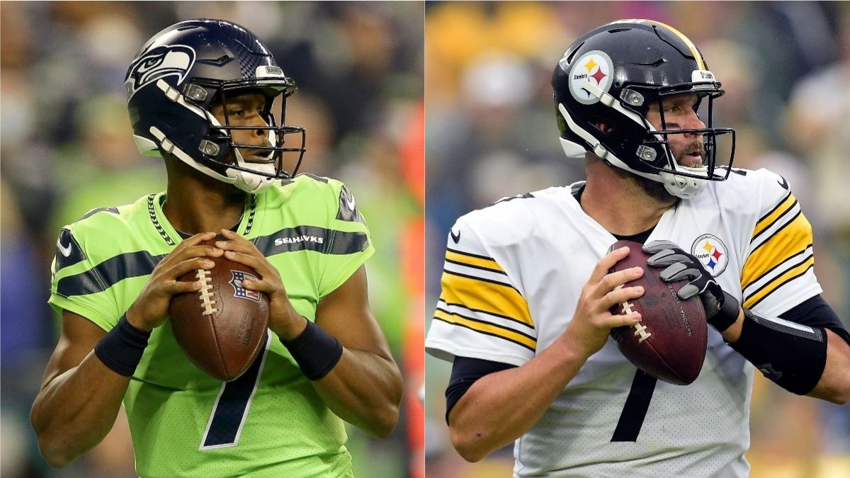 Seahawks vs. Steelers Odds, Promo: Bet $20, Win $205 on a Geno Smith or Roethlisberger Completion! article feature image