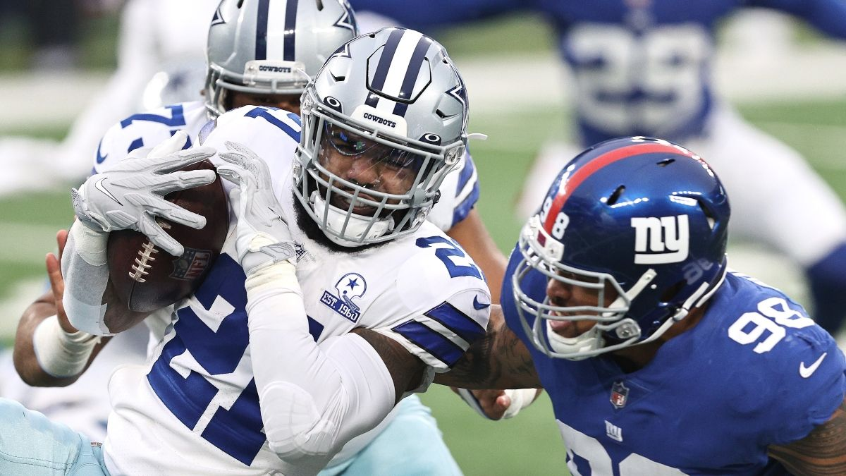 Giants vs. Cowboys Odds, Promo: Bet $20, Win $205 if Either Team Scores a Point! article feature image
